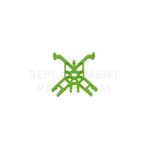 Bright Green Cross-Tie Connector