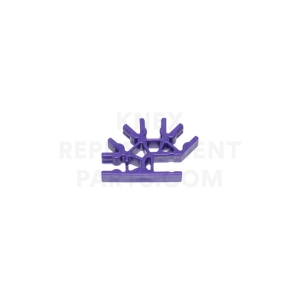 Purple 4-way 3D Connector