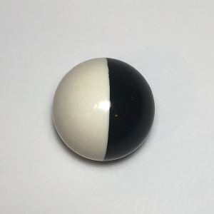 White & Black Ball