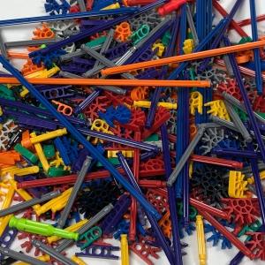 100 pc MICRO Rods & Connectors Bundle