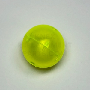 Transparent Yellow Ball