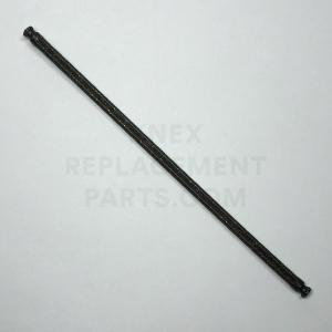Black Speckle/Glitter Flexi Rod – 190mm