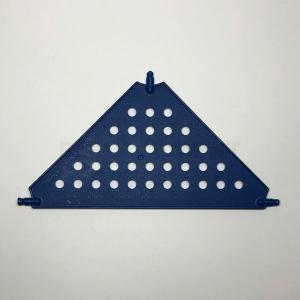 Large – Blue Tri Panel