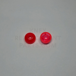 K'NEXMAN Head top Transparent Red