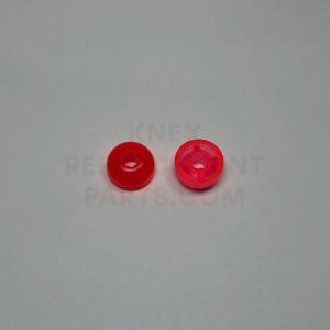 K'NEXMAN Head top Transparent Red