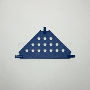 Medium – Blue Tri Panel