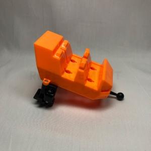 Orange Coaster Car Back