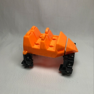 Orange Coaster Car Front