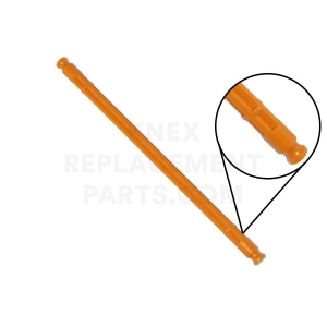 Orange Rod With Modified End – 128mm