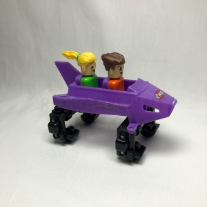 Purple Coaster Car