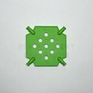 Small – Bright Green Square Panel