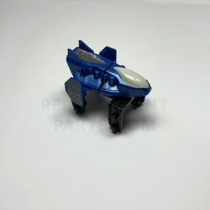 Blue Streamlined Coaster Car