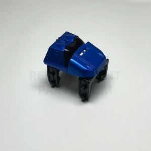 Metallic Blue Coaster Car