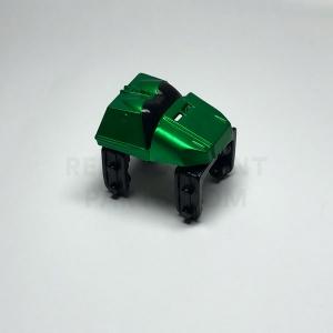 Metallic Green Coaster Car