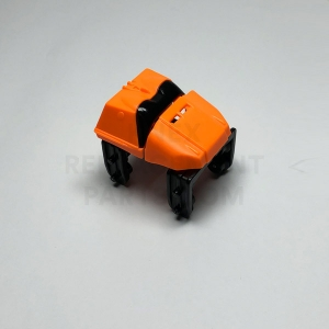 Orange Coaster Car