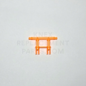 Orange 2-Leg Adaptor to Micro K'NEX