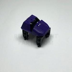 Purple Coaster Car