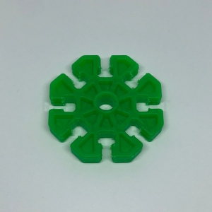 Green 8-way Connector