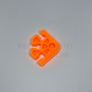 Orange 3-way Connector