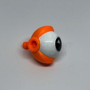 Orange Round Eye With Rod