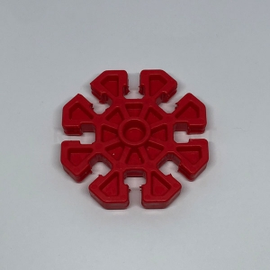 Red 8-way Connector