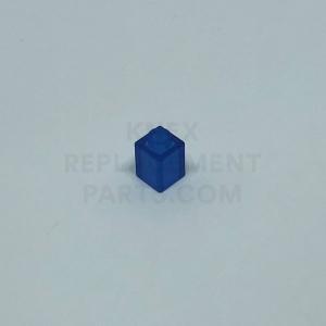 1 x 1 – Transparent Blue Brick
