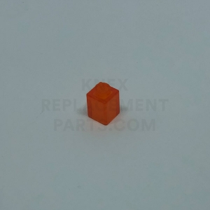 1 x 1 – Transparent Orange Brick
