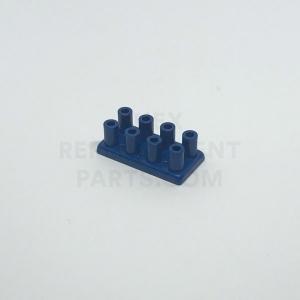 2 x 4 – Blue Brick w/ Long Studs