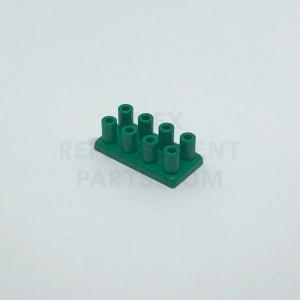 2 x 4 – Green Brick w/ Long Studs