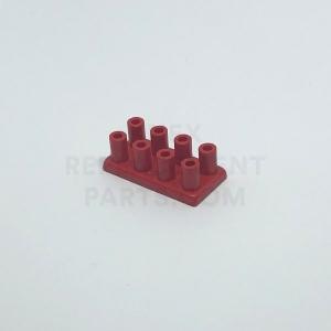 2 x 4 – Red Brick w/ Long Studs