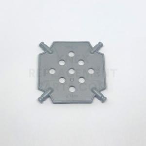 Small – Silver Square Panel