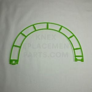 Green Semi Circle Track