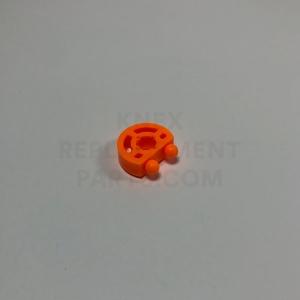 K'NEXMAN Head Middle Eyes – Bright Orange