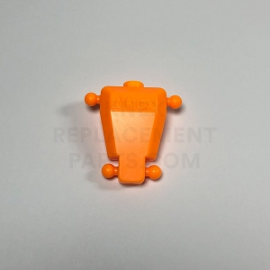 KNEXMAN Torso – Bright Orange
