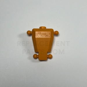 KNEXMAN Torso – Dark Orange