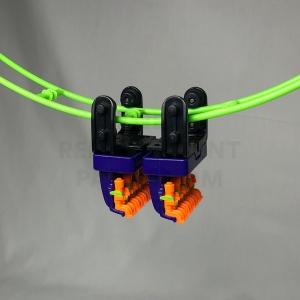 Purple Hanging Coaster Car