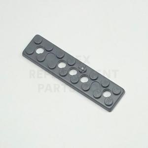 2 x 8 – Flat Dark Gray Plate