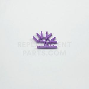 Light Purple 4-way 3D Connector