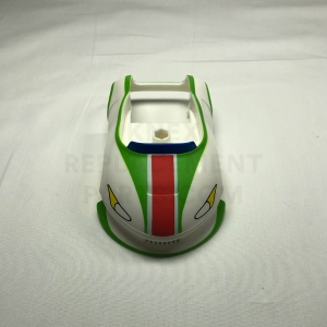 Green & White Mario Kart Car Body