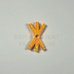 Orange 6-Way X-Rod