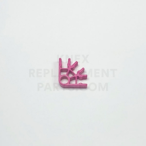 Pink 3-way Connector