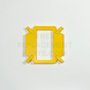 Small Yellow Frame Panel