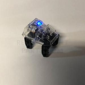 Transparent Light-Up Coaster Car