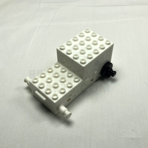 White Motorized Car Base
