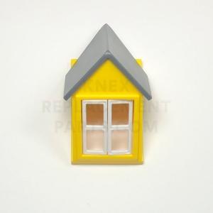 White Window Panes Small