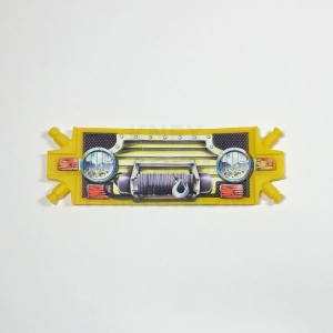 Yellow Wide Flexi-Panel w/ Truck Grille