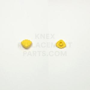 Yellow Seashell Clip