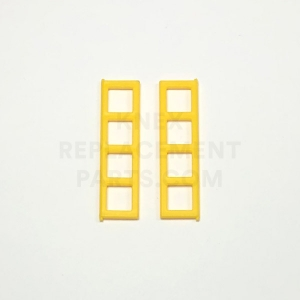 Yellow Window Panes Large